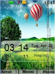 Nature tema screenshot