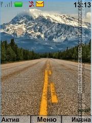 Скриншот темы The Road