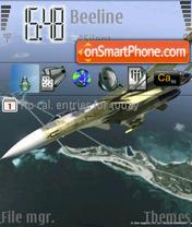 Air Force theme screenshot