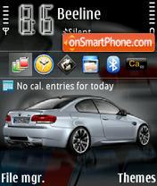 BMW M3 03 es el tema de pantalla