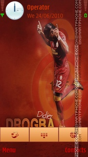 Galatasaray Drogba theme screenshot
