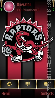 TorontoRaptors tema screenshot