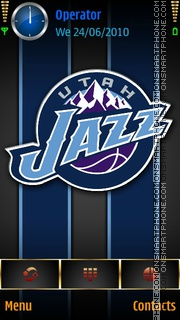 UtahJazz tema screenshot