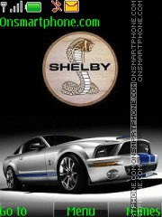 Shelby Cobra theme screenshot