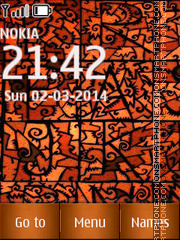 Abstract Design 05 theme screenshot