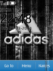 Adidas 04 theme screenshot