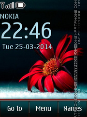 Red Daisy theme screenshot
