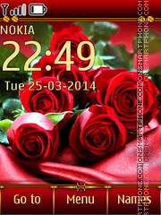 Favorite Roses theme screenshot