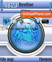 Sagitarius QVGA theme screenshot
