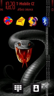 Скриншот темы Snake Cobra