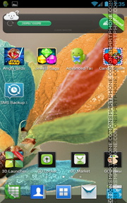 Colorful Leaves theme screenshot