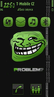 Trollface Problem theme screenshot