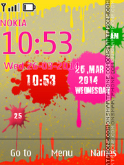 Holi Festival Of Colours theme screenshot
