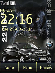 BMW X6 09 theme screenshot