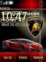 Lamborghini 22 theme screenshot