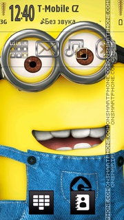 Minion tema screenshot