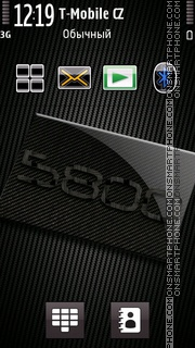 Nokia 5800 XpressMusic 01 theme screenshot