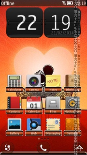 Together Couple HD theme screenshot