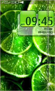 Lime 03 theme screenshot