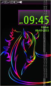 Horse 15 theme screenshot