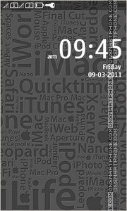 iApple theme screenshot