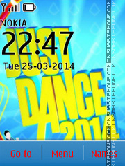 Just Dance 2014 theme screenshot