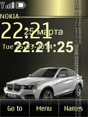 BMW X4 01 theme screenshot