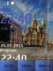 Cathedrals in Saint Petersburg theme screenshot