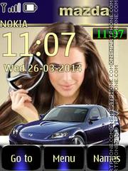 Mazda 07 tema screenshot