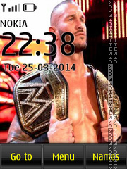 Randy Orton 05 theme screenshot