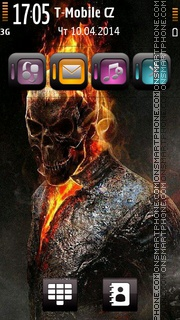 Ghost Rider 06 theme screenshot