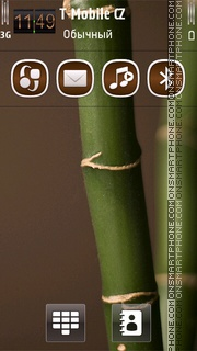Bamboo HD tema screenshot