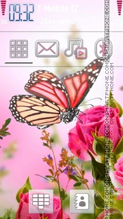 Rose Love 01 theme screenshot