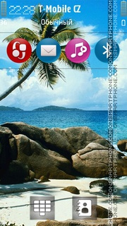 Beach 41 tema screenshot