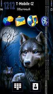 Wolves 03 tema screenshot