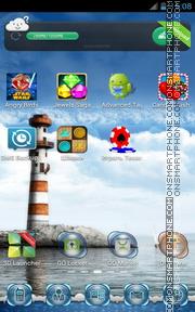 Скриншот темы Lighthouse 04