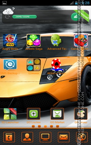 Lamborghini Murcielago 04 theme screenshot