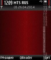 Скриншот темы In-Red