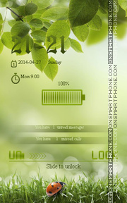 LadyBug theme screenshot