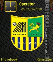 FC Metalist theme screenshot