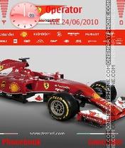 Ferrari Theme-Screenshot