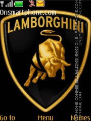Lamborghini tema screenshot