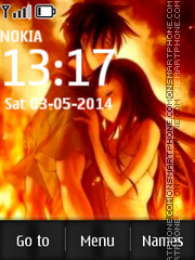 Anime Love 08 theme screenshot