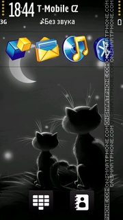 Cats In The City tema screenshot
