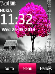 Pink Tree Digital theme screenshot
