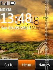 Sweden Landscape Digital theme screenshot