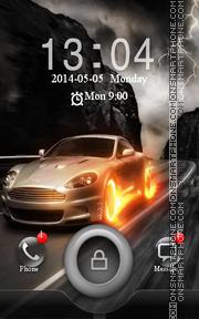Скриншот темы Speed Car