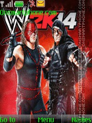 WWE Kane & Undertaker theme screenshot