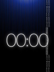 Digital Clock V3 theme screenshot