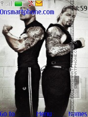 WWE The Rock & Roman Reigns es el tema de pantalla